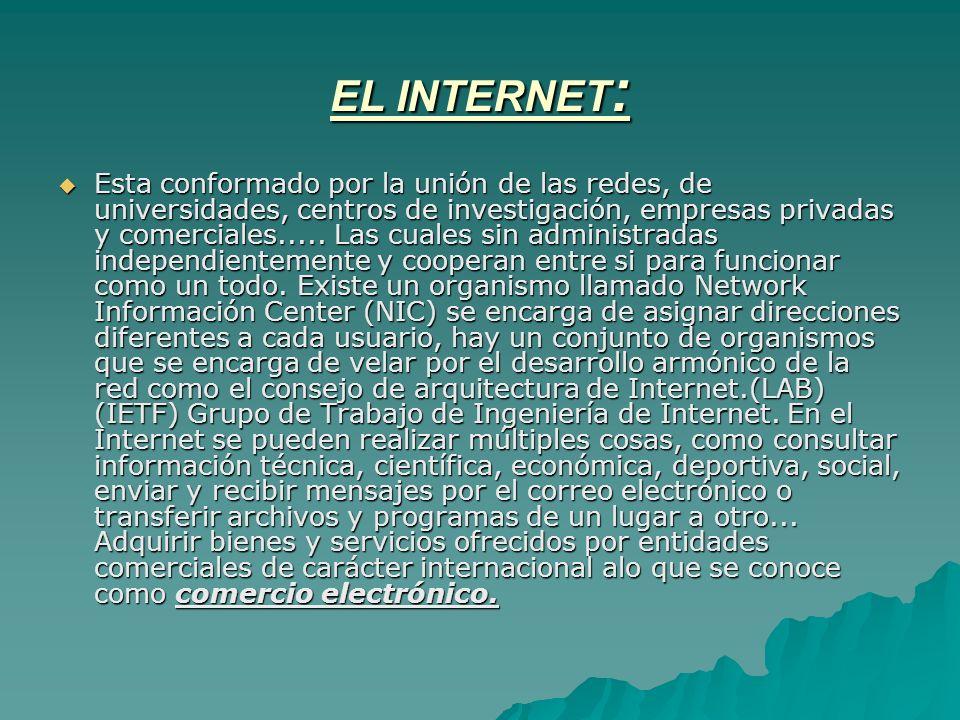 EL INTERNET: