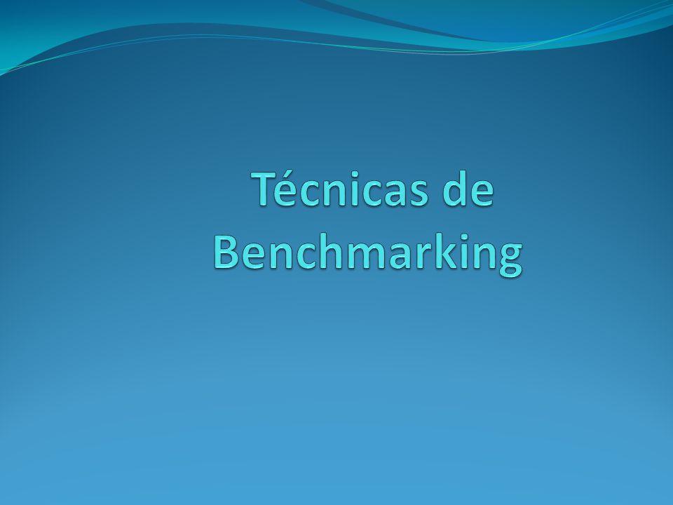 Técnicas de Benchmarking