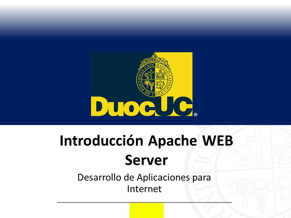 Introducción Apache WEB Server