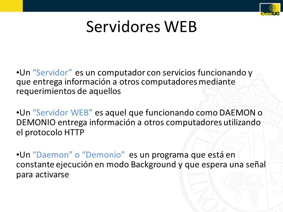 Servidores WEB