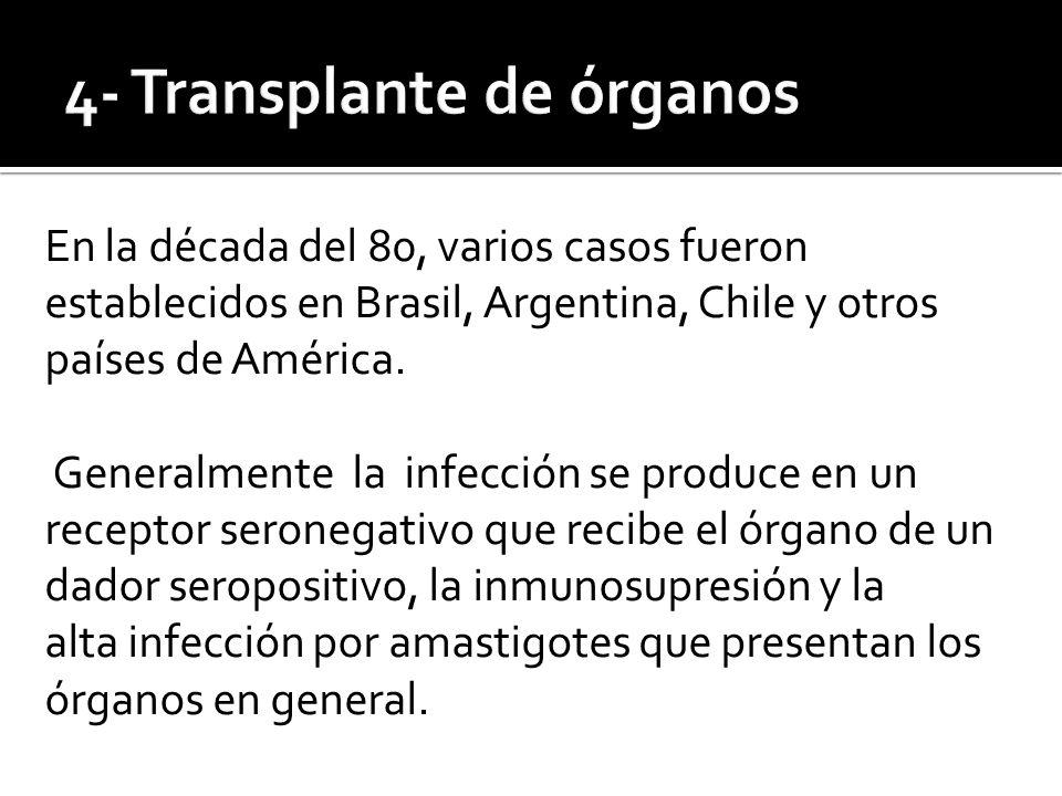 4- Transplante de órganos