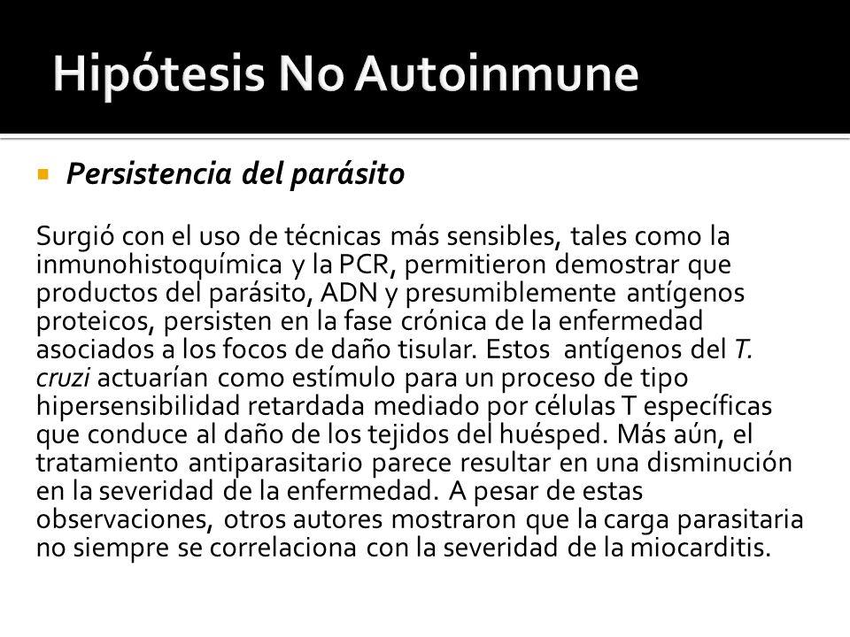 Hipótesis No Autoinmune