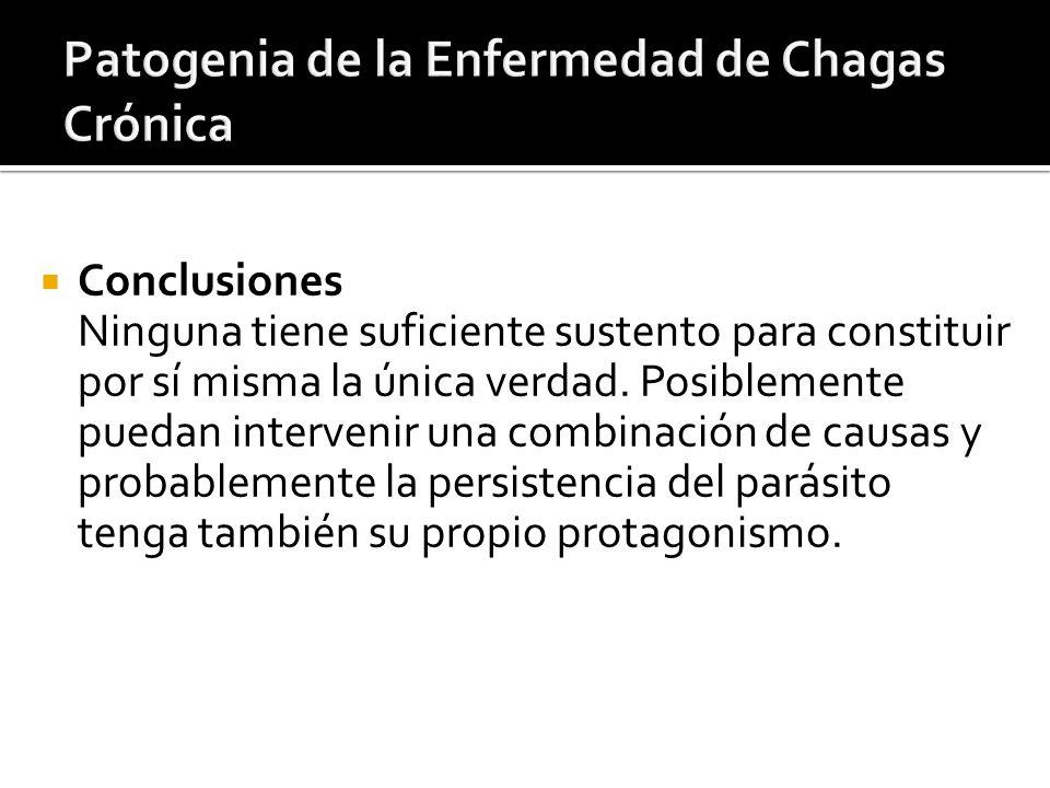 Patogenia de la Enfermedad de Chagas Crónica