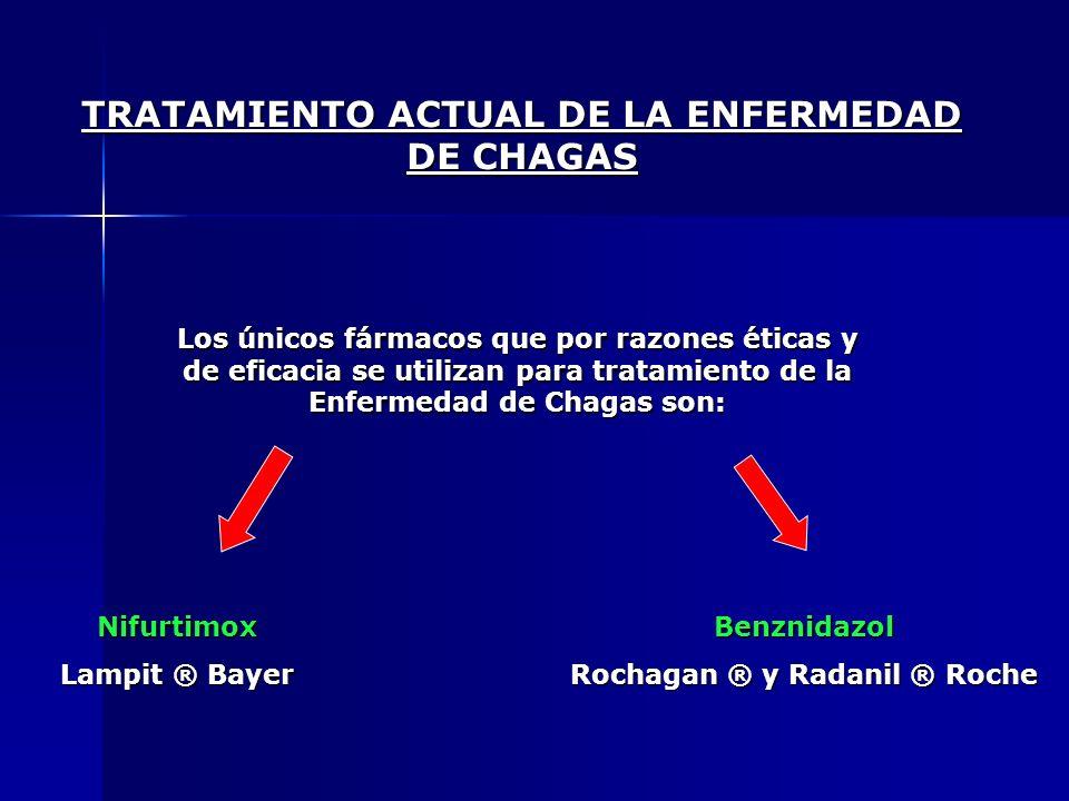 TRATAMIENTO ACTUAL DE LA ENFERMEDAD DE CHAGAS
