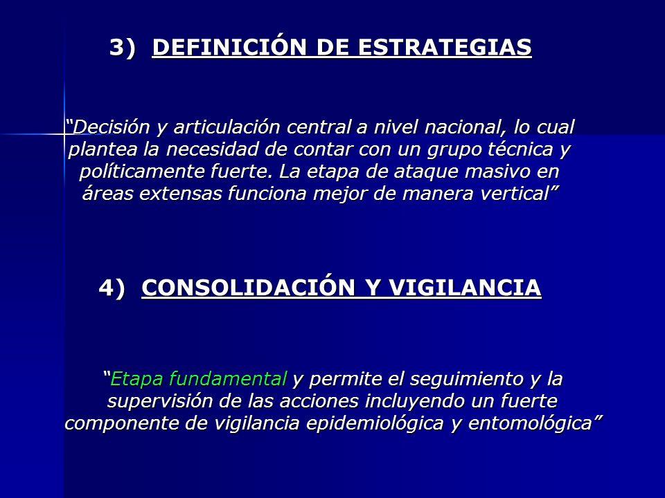 3) DEFINICIÓN DE ESTRATEGIAS