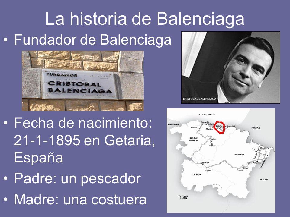 La historia de Balenciaga