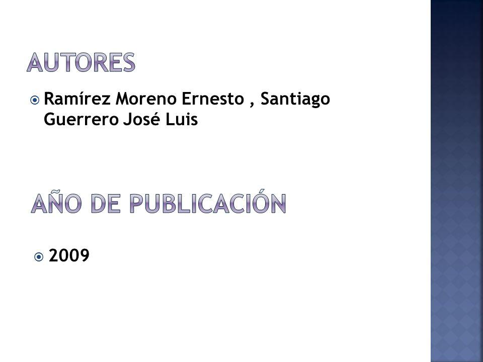 Autores Año de publicación