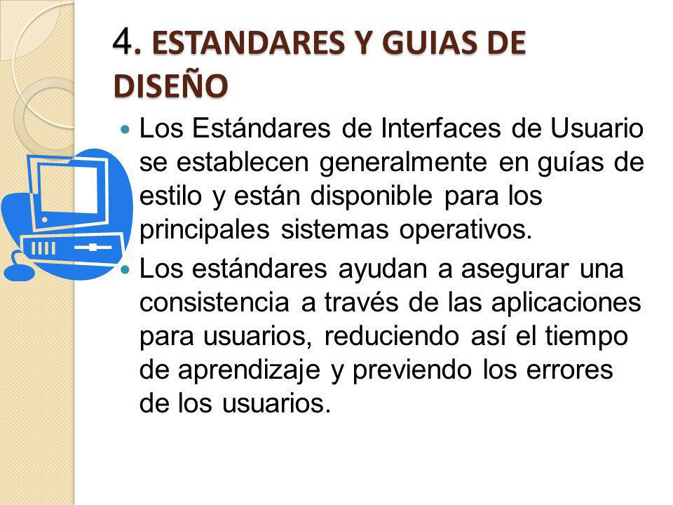 4. ESTANDARES Y GUIAS DE DISEÑO