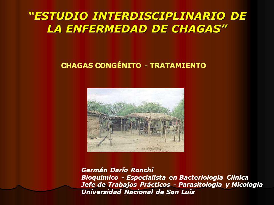 ESTUDIO INTERDISCIPLINARIO DE LA ENFERMEDAD DE CHAGAS
