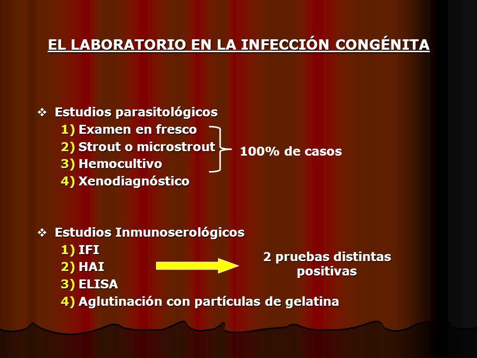 EL LABORATORIO EN LA INFECCIÓN CONGÉNITA