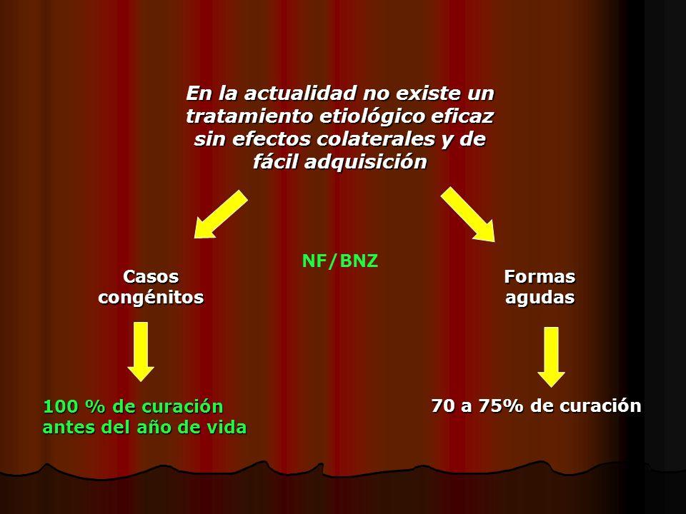 En la actualidad no existe un tratamiento etiológico eficaz sin efectos colaterales y de fácil adquisición