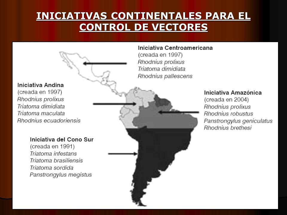 INICIATIVAS CONTINENTALES PARA EL CONTROL DE VECTORES