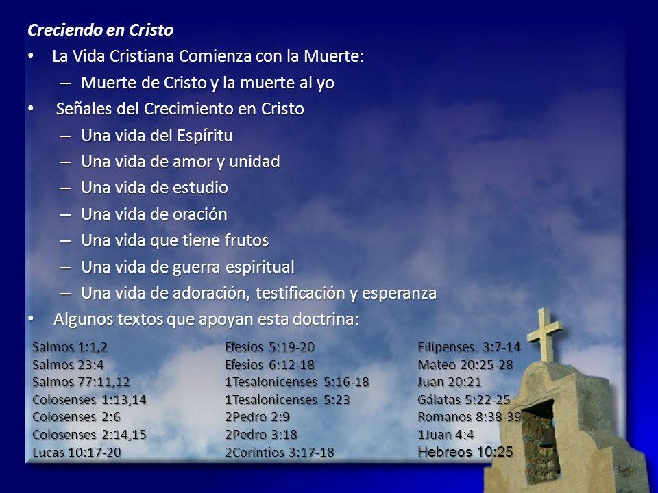 La Vida Cristiana Comienza con la Muerte: