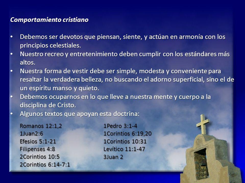 Comportamiento cristiano
