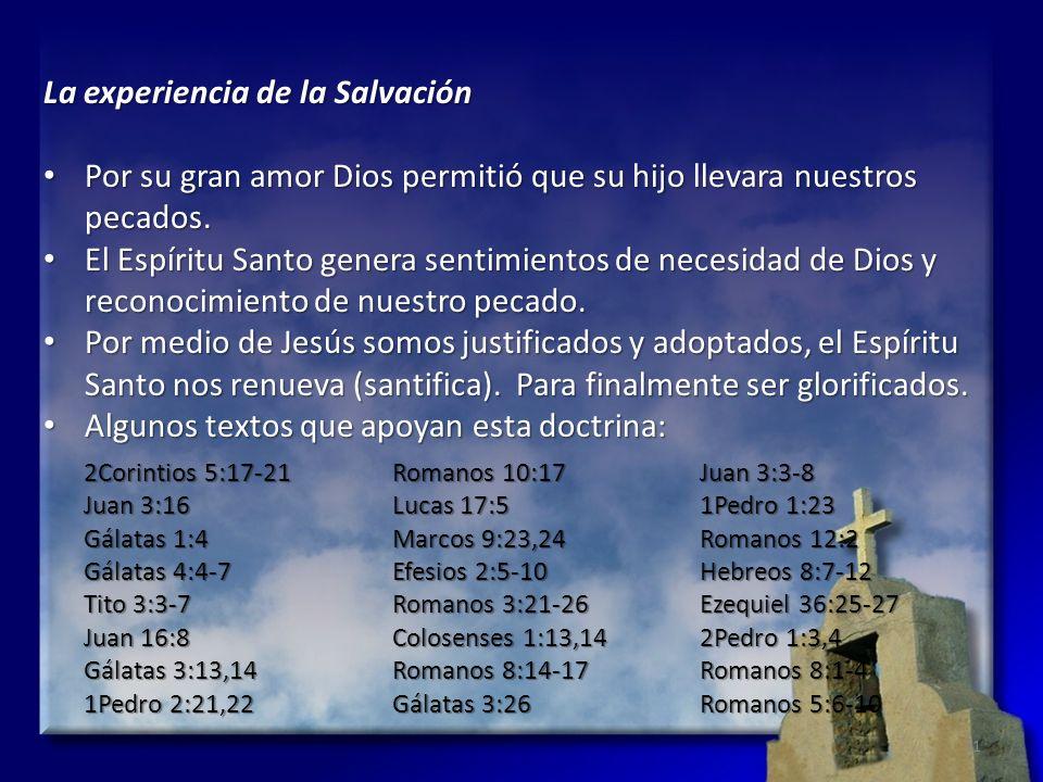 La experiencia de la Salvación