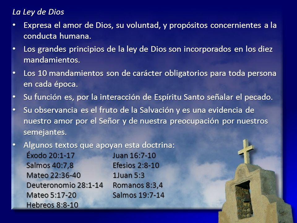Su función es, por la interacción de Espíritu Santo señalar el pecado.