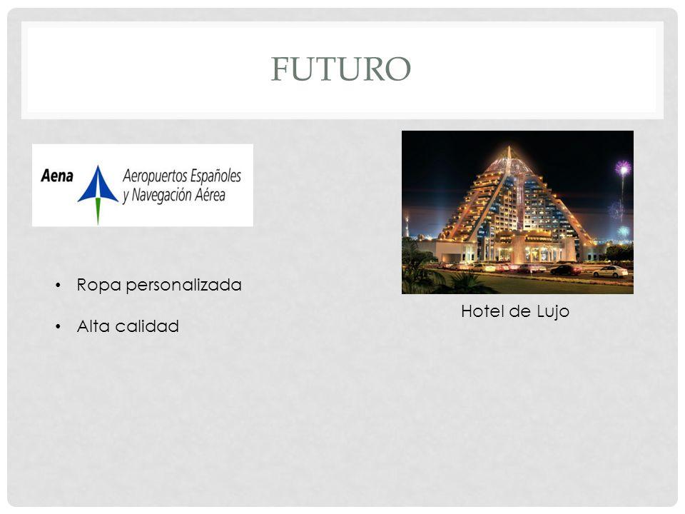 Futuro Ropa personalizada Alta calidad Hotel de Lujo
