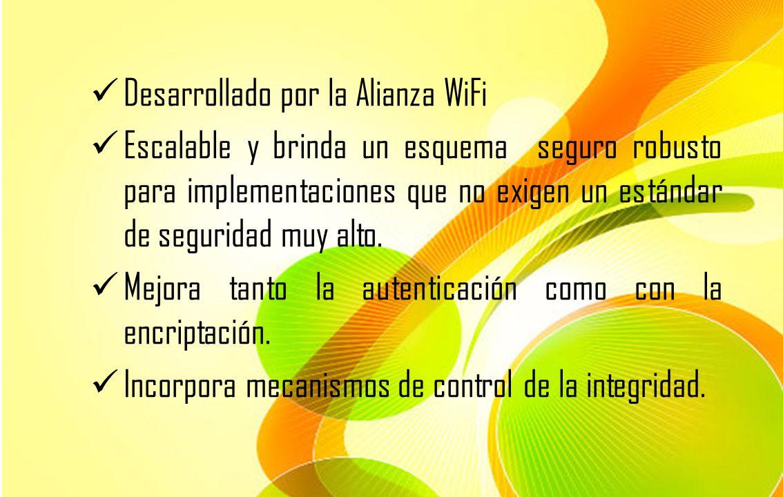 Desarrollado por la Alianza WiFi