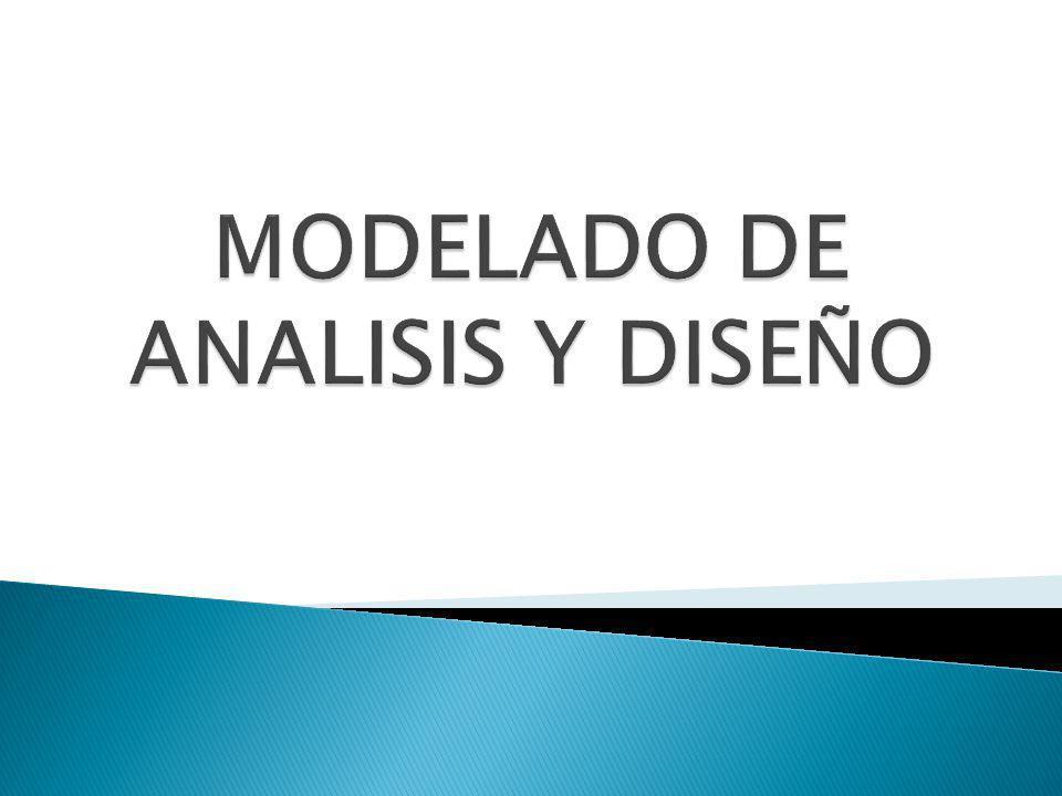 MODELADO DE ANALISIS Y DISEÑO