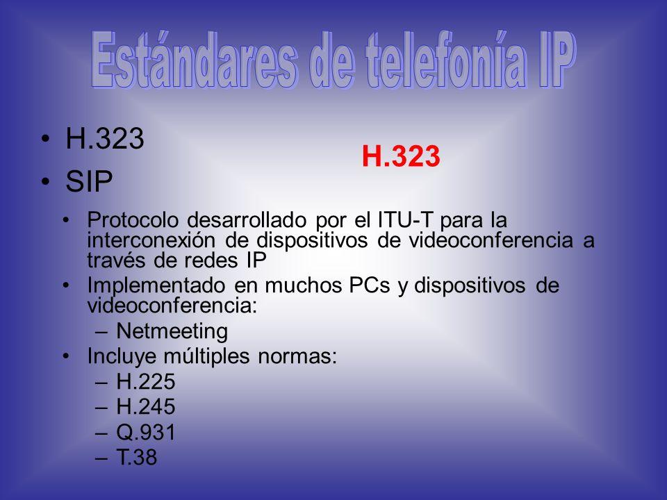 Estándares de telefonía IP