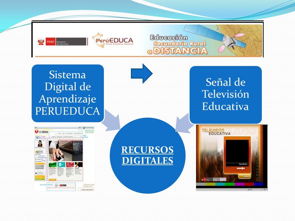 Sistema Digital de Aprendizaje PERUEDUCA Señal de Televisión Educativa