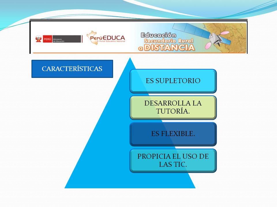 PROPICIA EL USO DE LAS TIC.