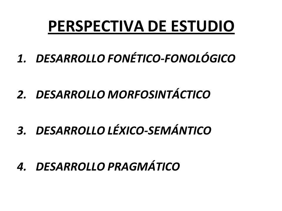 PERSPECTIVA DE ESTUDIO
