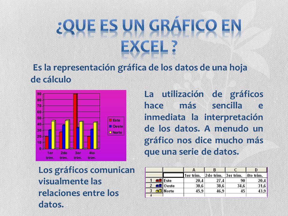 ¿Que es un Gráfico en Excel