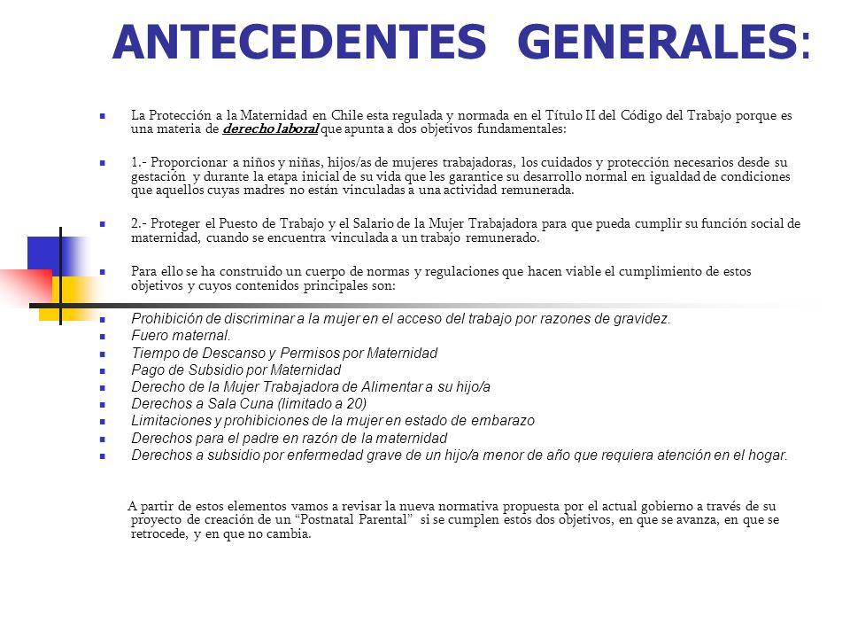 ANTECEDENTES GENERALES: