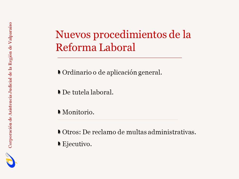 Nuevos procedimientos de la Reforma Laboral