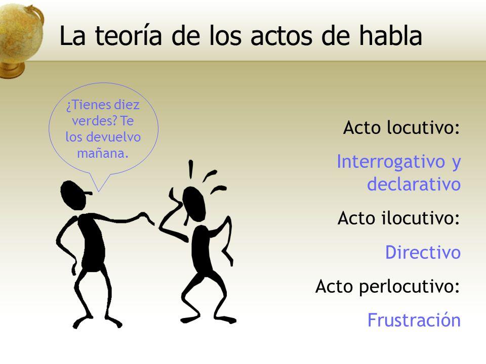 La teoría de los actos de habla
