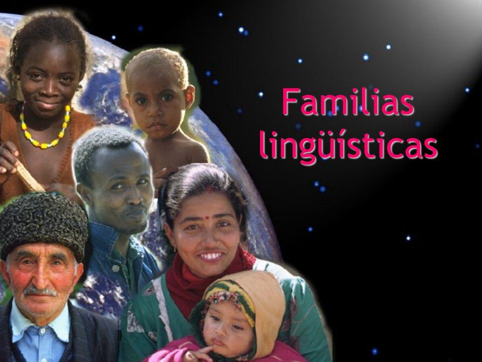 Familias lingüísticas