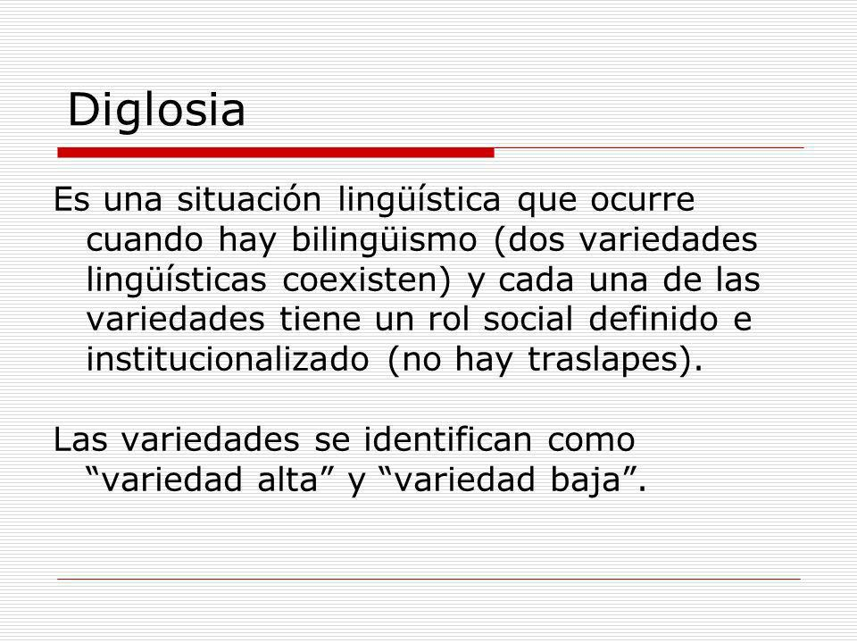 Language and Society 2001 Diglosia.