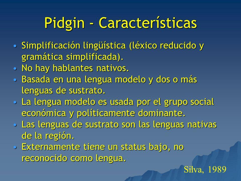 Pidgin - Características