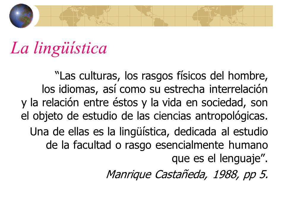 La lingüística