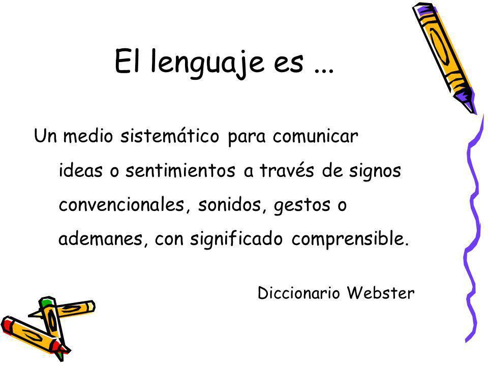 El lenguaje es ...