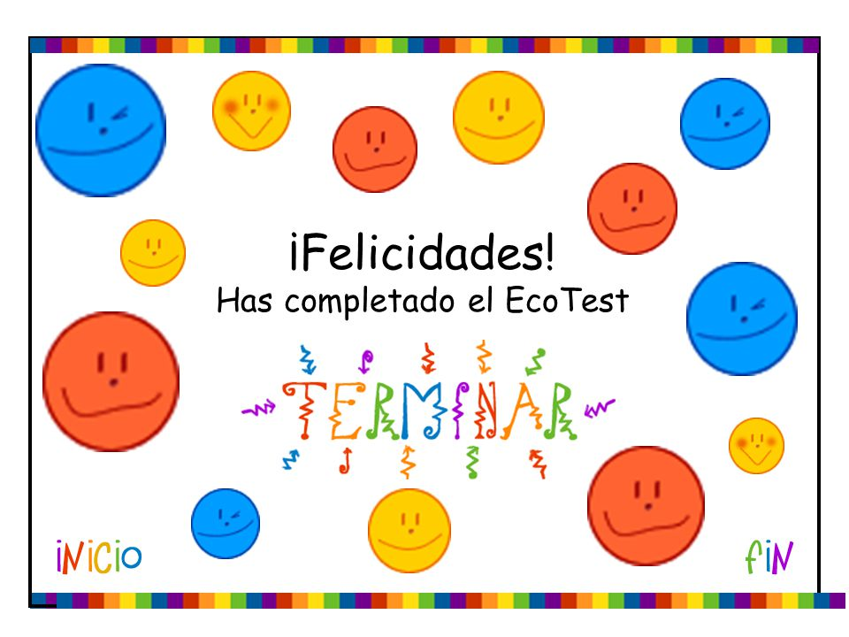 Has completado el EcoTest