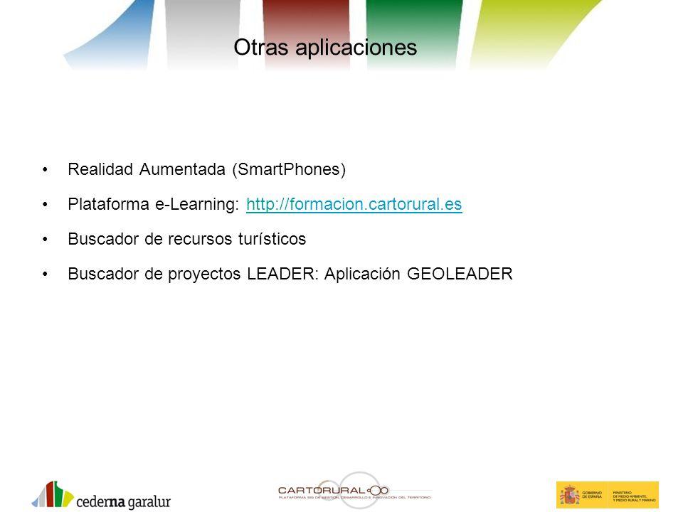 Otras aplicaciones Realidad Aumentada (SmartPhones)