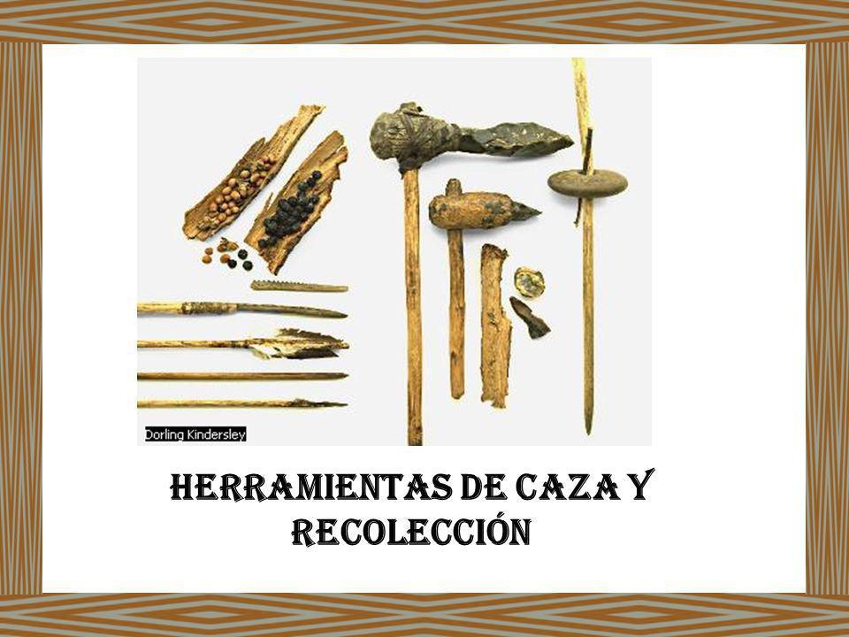 Herramientas de caza y recolección
