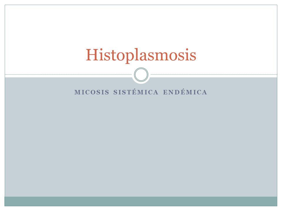 Micosis sistémica endémica