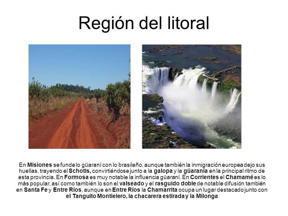 Región del litoral