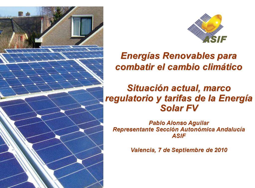 Energías Renovables para combatir el cambio climático