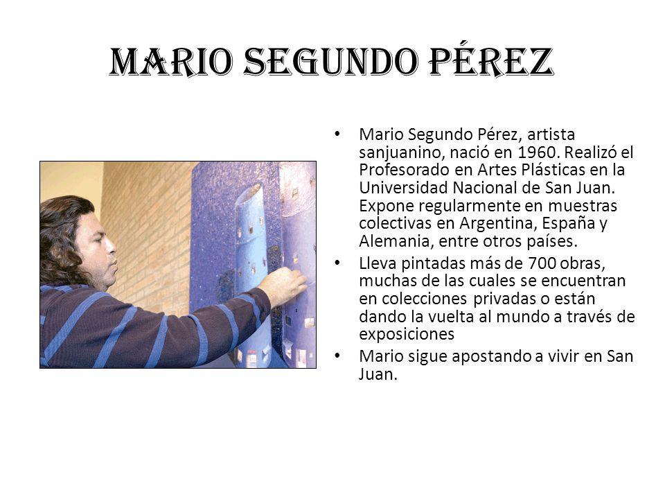 Mario Segundo Pérez