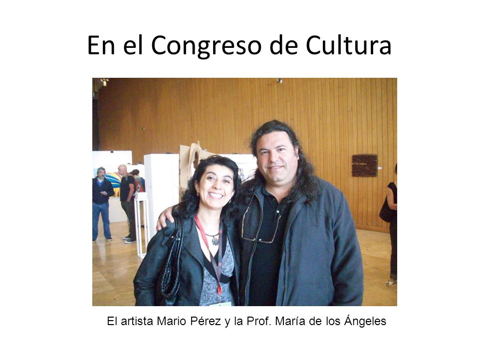 En el Congreso de Cultura