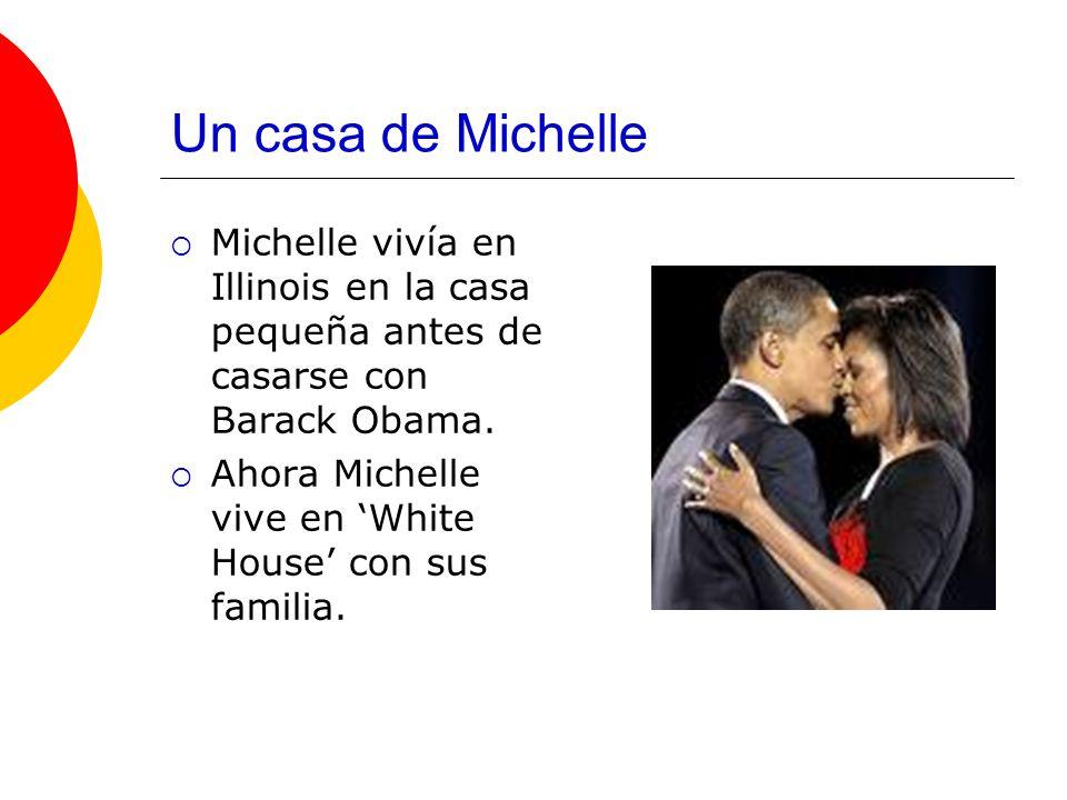 Un casa de Michelle Michelle vivía en Illinois en la casa pequeña antes de casarse con Barack Obama.