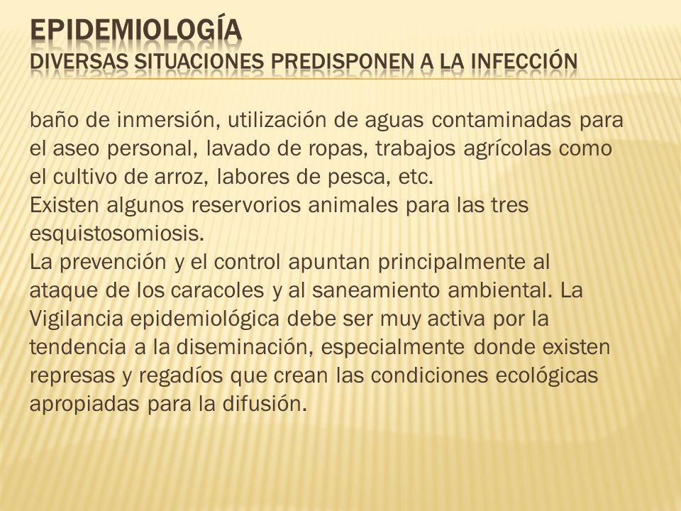 Epidemiología Diversas situaciones predisponen a la infección