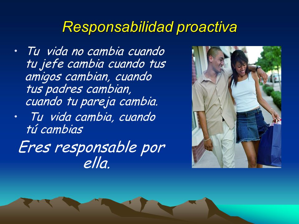 Responsabilidad proactiva