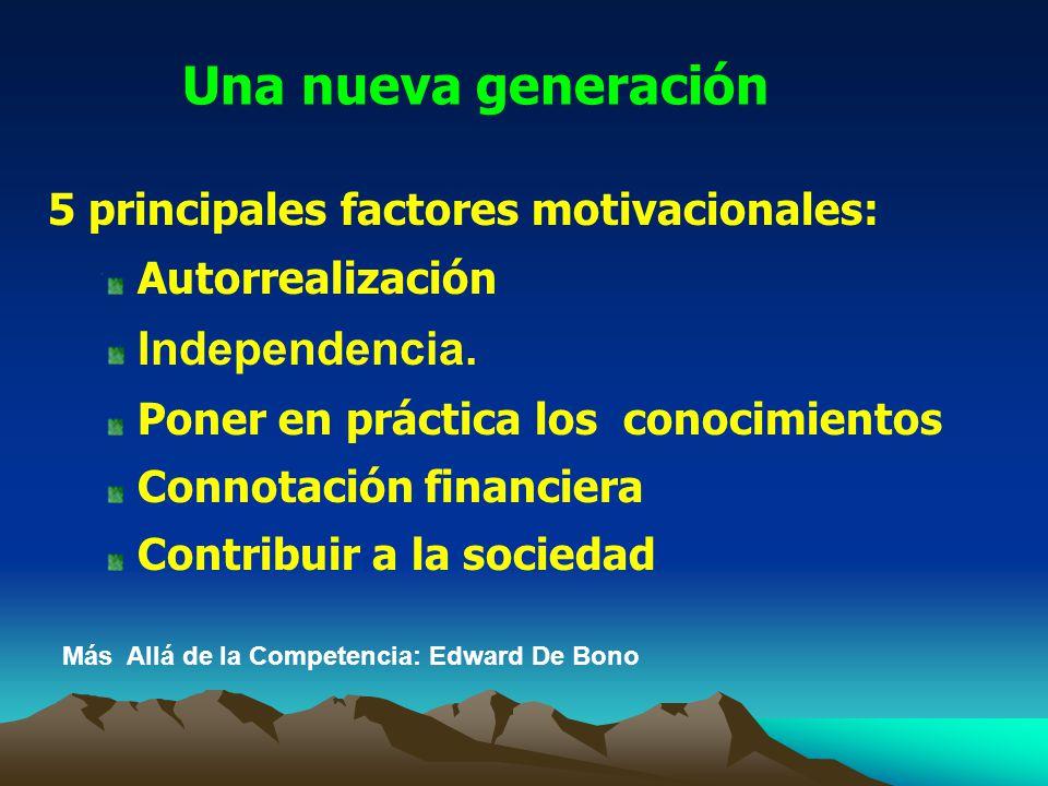 Una nueva generación Independencia.