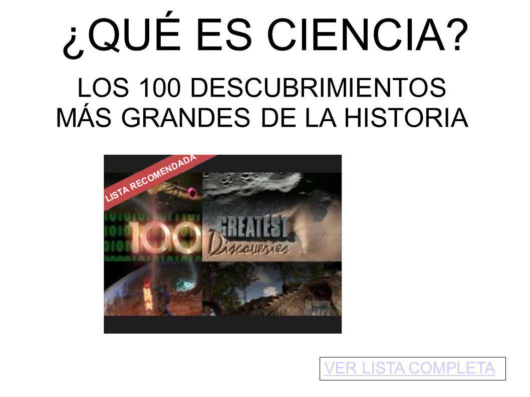 MÁS GRANDES DE LA HISTORIA
