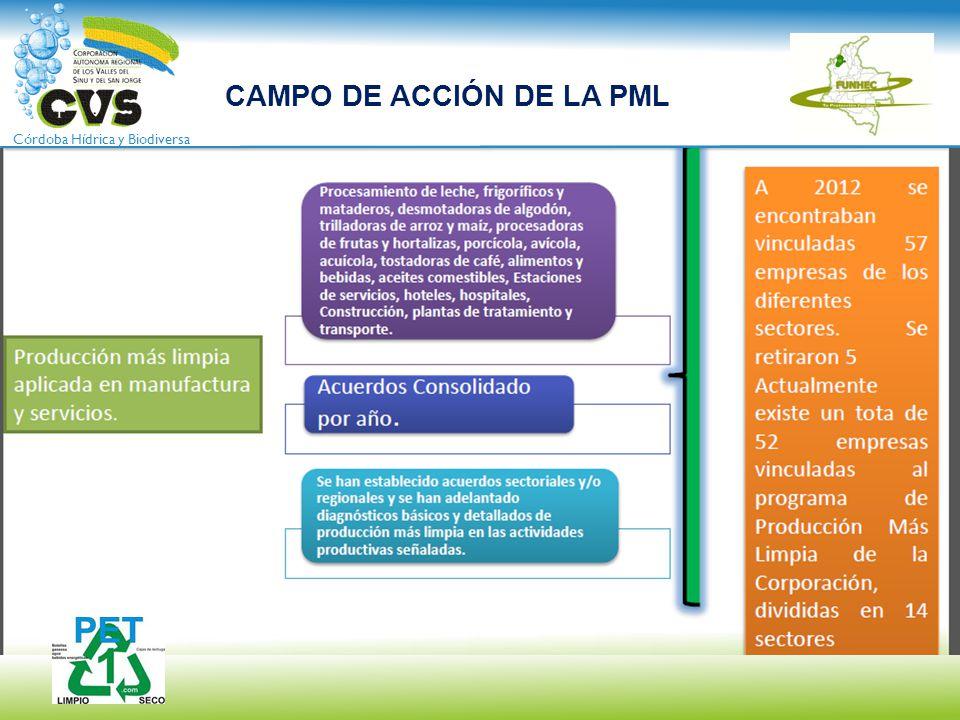 CAMPO DE ACCIÓN DE LA PML